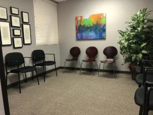 Chiropractic Center Waiting Lobby